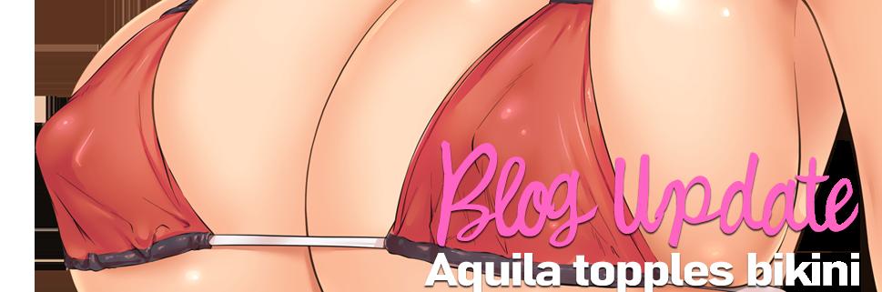 Busty Aquila Bikini